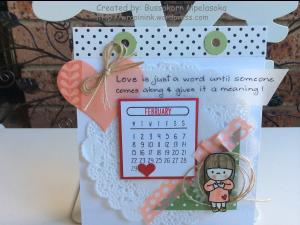 In my heart_Desktop calendar_Feb 2