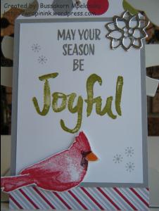 Joyful Season - tag 2